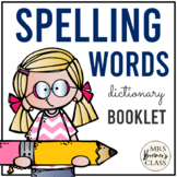Word Wall Books {Portable Student Word Walls}