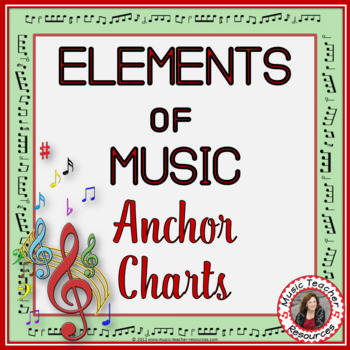 Elements of Music: Anchor Chartsl and Worksheets