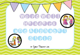 Word Wall Header and Alphabet Strip- Kids