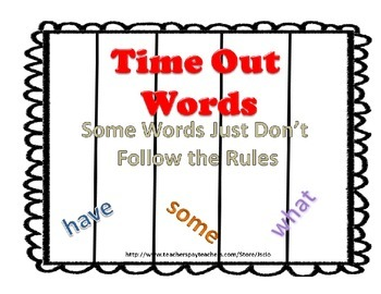 Word Wall {Rule Breaker Words}