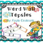 Word Wall Tops/Headers