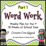 Word Work: Set 1