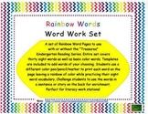 Word Work Rainbow Words-Treasures Series Sight Words