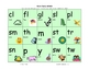 Word family bingo game set