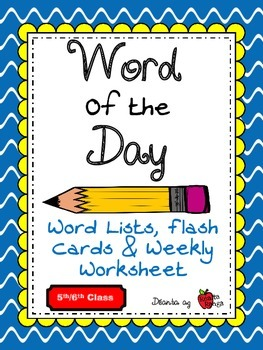 Word of the Day - English Vocabulary - 200 words (all year