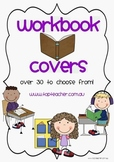 Workbook cover pages
