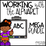 Working With the Alphabet {MEGA Bundle of Alphabet Activities}