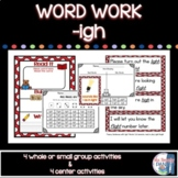 Working with Words Phonics igh Common Core Style