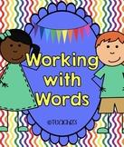 Word Work: Prefix, Suffix, Dictionary, Spelling