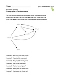 Worksheet to practice reading and using directed line graphs