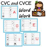 CVC Words and Sneaky E Words (Long e)