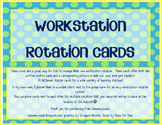 Workstation Rotation Cards