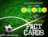 Fluency Task Cards {World Cup Facts}