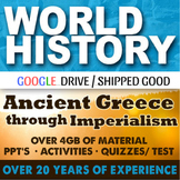 World History First Semester GIANT Bundle 75 Lessons