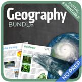 Worksheet Bundle (Religions, World Wonders & Natural Disasters)