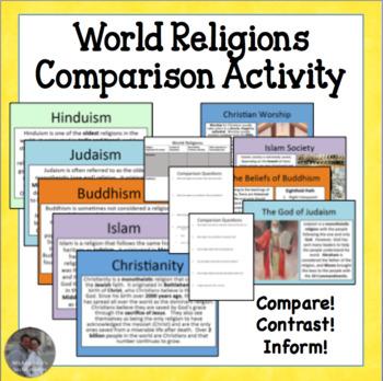 World Religions COMPLETE Investigation and Comparison Cent