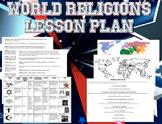 World Religions Lesson Worksheets Handouts Lesson Plan