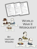 World War II Webquest/Internet Activity History Channel
