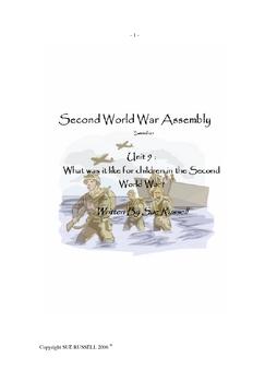 World War Two Class Play