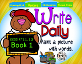 Write Daily Book 1: Paint a Picture with Words! (Adjective