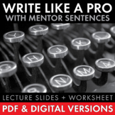 Write Like a Professional – Tips & Tricks to Quickly Impro