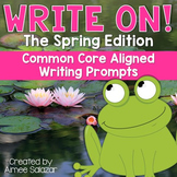 Write On! The Spring Edition {Common Core Aligned}