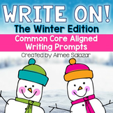 Write On! The Winter Edition {Common Core Aligned Writing