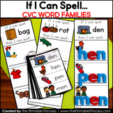 CVC Words Short Vowel Word Building Cards