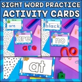 Write, Wipe and Make Cards Dolch Primer Winter Edition, pl