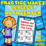 Write on/Wipe Off Addition and Subtraction Task Cards QR Codes