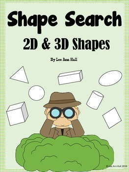 Write the Room (Draw the Room) - 2D and 3D Shapes