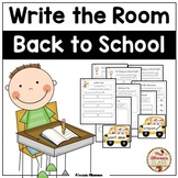 Write the Room Literacy Center Student Activities - Back t