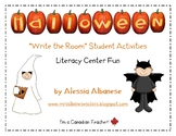 Write the Room Literacy Center Student Activities - Halloween
