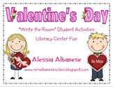 Write the Room Literacy Center Student Activities - Valent