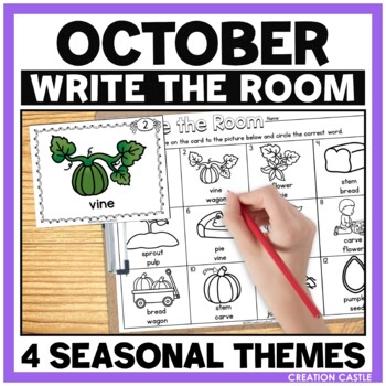 Write the Room - October
