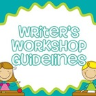 Writer's Workshop Guidelines Posters