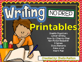 Writing NO PREP Printables