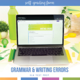 Writing Assessment, Test, or Quiz