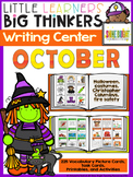 writing center October (16 Writing Activities and 225 Pict