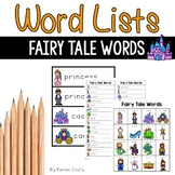 Writing Center Tools- Fairy Tale  Words