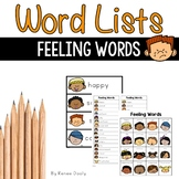 Writing Center Tools- Feeling Words