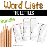 Writing Center Tools- Just the Littles