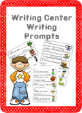Writing Center Writing Prompts