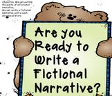 Writing: Fictional Narrative SMART board file