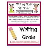 Writing GOALS Clip -Charts
