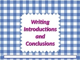 ELA WRITING Introductions & Conclusions Expository Opinion