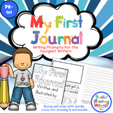 Writing Journal with Prompts and Pictures for Our Youngest
