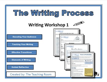 Writing Workshop 1 - The Writing Process Middle School & High School