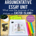 Argumentative Essay Writing with texts, Cornell notes & fo