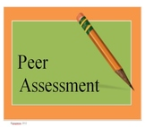 Writing- Peer Assessment Guide